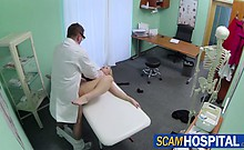 Hottie Miriam gets a free sexual therapy