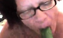 Granny Gets Her Old Pussy Wet
