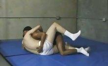 Interracial Gay Messy Blowjob
