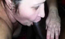 Horny Mom Cant Stop Sucking Her Favorite Big Black Schlong
