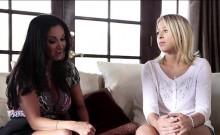 Zoey Monroe orgasms with MILF Ava Adams